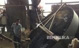 Polisi bongkar kasus tindak pidana peredaran pemalsuan pupuk tiga merek yang berlokasi di tiga desa, kawasan Pracimantoro, Kabupaten Wonogiri, Jawa Tengah (Foto: ilustrasi pabrik pupuk palsu)
