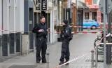 Polisi berada di lokasi penembakan di Jerman