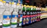 Minuman keras (miras). Polres Majalengka sita 1.264 botol minuman keras dalam razia jelang tahun baru.