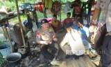 Polres Maluku Tengah dan Tim Bidang Kedokteran dan Kesehatan Polda Maluku memberikan bantuan pada warga suku Mausu Ane di Pedalaman Gunung Murkele, Desa Maneo, Seram Utara, Maluku yang belakangan ini didera kelaparan. Polisi memberikan bantuan berupa sembako dan obat-obatan Rabu (25/7) hingga Kamis (26/7).
