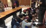 Puluhan remaja yang hendak melakukan tawuran diamankan (ilustrasi)