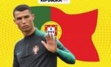 Portugal tak terkalahkan tanpa Ronaldo.