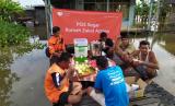 Pos Segar Rumah Zakat untuk korban banjir di Banjarmasin.
