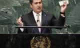 Presiden Honduras Juan Orlando Hernandez
