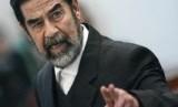 Presiden Irak Saddam Hussein