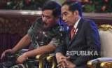Panglima TNI dari Angkatan Udara dan Insinyur Tempur
