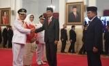 Usai Dilantik, Gubernur Riau Nyatakan Dukungan ke Jokowi