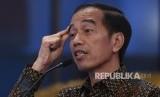 Presiden Joko Widodo menyampaikan arahan saat membuka Kongres XIII Ikatan Akuntan Indonesia di Istana Negara, Jakarta, Selasa (11/12/2018).