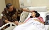 Presiden ke-6 RI, Susilo Bambang Yudhoyono mendampingi istrinya, Ani Yudhoyono. (Foto: Instagram)