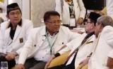 Presiden Partai Keadilan Sejahtera (PKS), Sohibul Iman (Kedua Kiri)