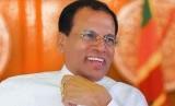 Presiden Sri Lanka Maithripala Sirisena