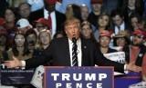 Presiden terpilih AS Donald Trump.