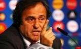 Presiden UEFA Michael Platini