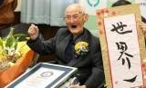 Pria tertua dunia Chitetsu Watanabe meninggal pada usia 112 tahun.