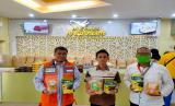Produk hasil BUMMas masuk ke sentra oleh-oleh kota Medan.
