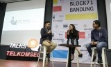 Program talk show Talks@Telkomsel hadirkan edisi spesial Millenials Career Talk di co-working space Block 71 Bandung Innovation Room, Sabtu (18/1).