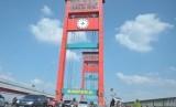 Jembatan Ampera Palembang (ilustrasi)