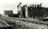 Museum Kereta Api Hejaz Arab Saudi  . Foto: Proyek pembangunan Rel Kereta Api Hijaz.
