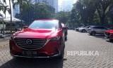 PT Eurokars Motor Indonesia mengajak media untuk merasakan langsung All-New Mazda CX-9, di Jakarta, Kamis (15/3).