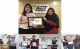 PT KAO Indonesia menyalurkan bantuan berupa deterjen pembersih pakaian melalui ACT.