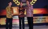 PT Sentul City Tbk yang baru saja mendapatkan penghargaan Living Legend Company Award 2018 untuk kategori Green City Initiator Company.