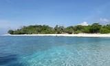 Pulau Nailaka yang bersebelahan dengan Pulau Run, Banda, Maluku Tengah.