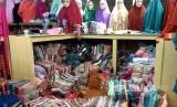 Pusat grosir Thamrin City, Jakarta Pusat, yang menjual produk dalam negeri.