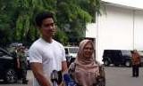 Putra Jokowi, Kaesang Pangarep dan putri Ma'ruf Amin, Siti Haniatunnisa mendampingi Jokowi dan Ma'ruf menjalani tes kesehatan di RSPAD Gatot Soebroto, Jakarta, 12 Agustus 2018. Ini menjadi momen terakhir Kaesang menemani aktivitas Jokowi sebelum digantikan Jan Ethes.