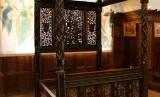 Ranjang pernikahan milik Henry VII dan Elizabeth York dari Inggris.