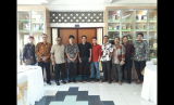 Rektor UMY Gunawan, Dwiki Dharmawan, dan Keluarga Alumni UMY, Kamis (21/9).