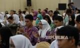 Remaja mengikuti sebuah seminar (ilustrasi)