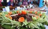 Rendang festival in Padang, West Sumatra (photo file)
