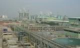 Pabrik kertas Riau Andalan Pulp and Paper (RAPP) di Pelalawan, Riau. (photo file)