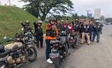 Riding bahagia komunitas Enfielders Bogor Motor Club (EBMC)