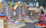 Ritual cheng beng yang dilakukan warga keturunan Cina di Bangka, ilustrasi