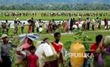 Aktivis Rohingya Ajak Warga Global Boikot Myanmar. Foto ilustrasi pengungsi Rohingya.
