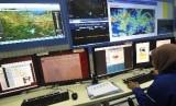 Ruang pengawasan BMKG (ilustrasi)