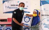 Rumah Sakit JIH Solo berkolaborasi dengan Lembaga Amil Zakat (LAZ) Solopeduli membagikan 200 paket sembako kepada kaum dhuafa, Rabu (12/8).