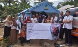 Rumah Zakat bersama Musaadah Charity menggelar pemeriksaan kesehatan gratis di Donggala.