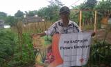Saepudin petani jagung binaan Rumah Zakat.