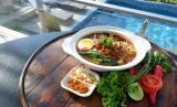 Salah satu menu yang ditawarkan Crown Prince Hotel Surabaya.