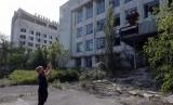 Salah satu sudut di Chernobyl.