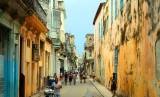 Salah satu sudut Havana, Kuba.