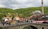 Salah satu sudut Kota Prizren, Kosovo.