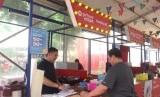Salah satu tenant di GoFood Festival Jakarta.