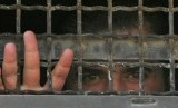 Salah seorang tahanan Palestina di penjara Israel (ilustrasi).