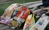 Sampah kemasan makanan (Ilustrasi)