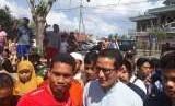 Sandiaga Kucurkan Rp 2,3 Miliar untuk Korban Gempa Lombok