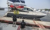 kapal yang digunakan untuk menyelundupkan narkoba dari Malaysia / Ilustrasi