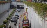 terowongan (underpass) Senen di Jakarta